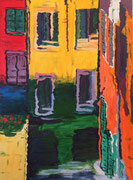 Chioggia, 2016, Acryl auf Leinwand, 70 x 50