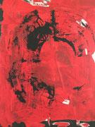 Drehmoment, 2010, Acryl auf Leinwand, 100 x 80