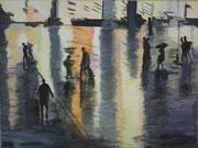 Köln Domplatte, 2013, Acryl auf Leinwand 60 x 80