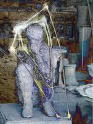 Pompeji - Der letzte Atemzug, Fotocollage