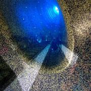 Neapel Metro, Fotocollage 2018