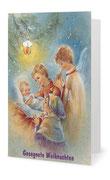 101) Weihnachtskarte (Klappkarte mit Gedicht im Innenteil - 182 x 117 cm) 1,80 €