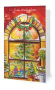 103) Weihnachtskarte (Klappkarte mit Gedicht im Innenteil - 182 x 117 cm) 1,80 €