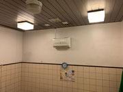 埼玉県草加市某施設暖房機設置工事