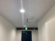 神奈川県横浜市某事務所誘導灯設置工事