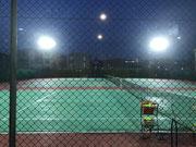 埼玉県八潮市某テニススクールLED照明(水銀灯1000W相当)交換工事