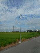 埼玉県さいたま市岩槻区道路照明灯設置工事