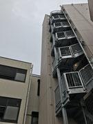 東京都北区王子マンション避雷針設備修繕工事