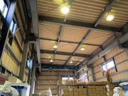 埼玉県さいたま市岩槻区某倉庫セルフバラスト水銀ランプ交換修繕