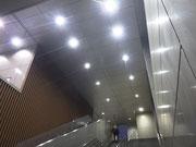さいたま市北区日進駅自由通路LED照明修繕北口・南口