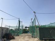 埼玉県越谷市野球施設屋外照明灯設置工事
