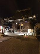 埼玉県杉戸町某寺院様ライトアップ工事