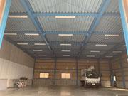 埼玉県さいたま市浦和区倉庫内LED照明設置工事