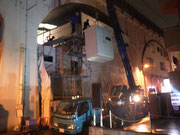 東京都千代田区高架下某店舗様高圧受電設備据付工事
