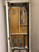 東京都東大和市某施設非常放送設備カットリレー信号線配線工事
