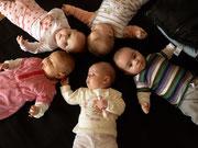 Kleine Babyrunde nach der Rückbildung