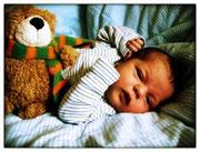 Milla Elin zwei Wochen alt