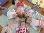 Babyrunde nach der Rückbildung