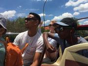 Red Bus Joburg City Tour mit Tennessee und der ganzen Familie.