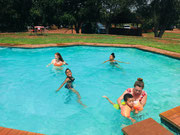 Another trip to the Lion and Rhino park. This time we ame prepared for the pool!