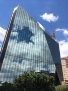 Die diamantenförmige Börse von Johannesburg