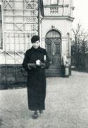 Eingang zum Wohnhaus des Schultenhofes an der Altestr. - 1938
