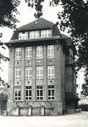 Das alte Gebäude der Libori-Schule -  Fotografie 1962