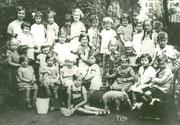 Kinderfest im St. Liborius-Kindergarten -  Fotografie 1934