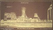 Zeichnung der Zeche Lucas 1910