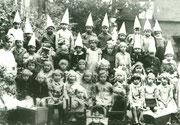 Karnevalsfeier im St. Liborius-Kindergarten - Fotografie 1934