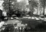 Gaststätte Haus Risse Biergarten Körner Hellweg 76 -  Fotografie 1946/7