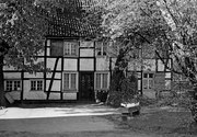 Bauernhof Fritz Fröhlich Am Zehnthof 16 Ansicht des Hauseingangs von Süden -  Fotografie 1970