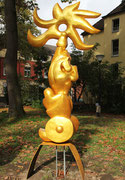 """""""Helios"""" im Körner Park, von Katharina Bock,  2013"""