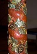 Der Osterleuchter/ zwischen1600 u. 1750 / Detailansicht