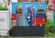 """Frei nach """"James Rizzi"""" von den Schülern der Liborischule, 2012"""