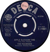 apple blossom time/i-dont-wanna-tell-you-again-decca F 11901 1964 side A