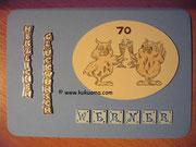 Glückwunschkarte mit Namen