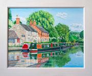 """Stoke Bruerne"" £1000 20 x 16 inch plus frame width"