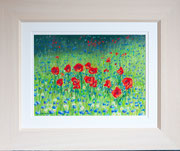 """""""Wild Meadow""""  £125 38 x 45.5 cms approx outside frame measurement"""