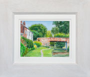 """Long Buckby""  £65  35 x 30 cms approx outside frame measurement"