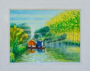 """Misty Morn""  £175  16 x 12 inch plus frame width"