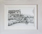 """Minshull Lock"" £125    14 x 11 inch plus frame width"