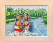 """Hard a Starboard"" Acrylic £175 16 x 12 plus frame width"