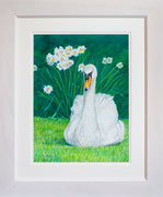 """Elegance""   £325 48 x 58 cms approx outside frame measurement"