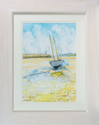 Simply St Ives £175  50 x 40 cms approx outside frame measurement