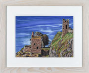 """Botallack"" £175  43.5 x 53 cms approx outside frame measurement"