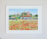 """""""Bourne End""""  £125 14 x 11 inch plus frame width"""