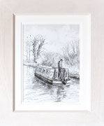 """Winter Cruise""  £125  38 x 45.5 cms approx outside frame measurement"