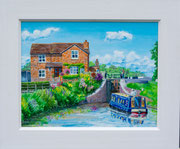 """""""Summertime""""  £125    45.5 x 38 cms approx outside frame measurement"""