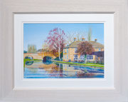 """""""The Navigation"""" £150 51 x 41 cms approx outside frame measurement"""